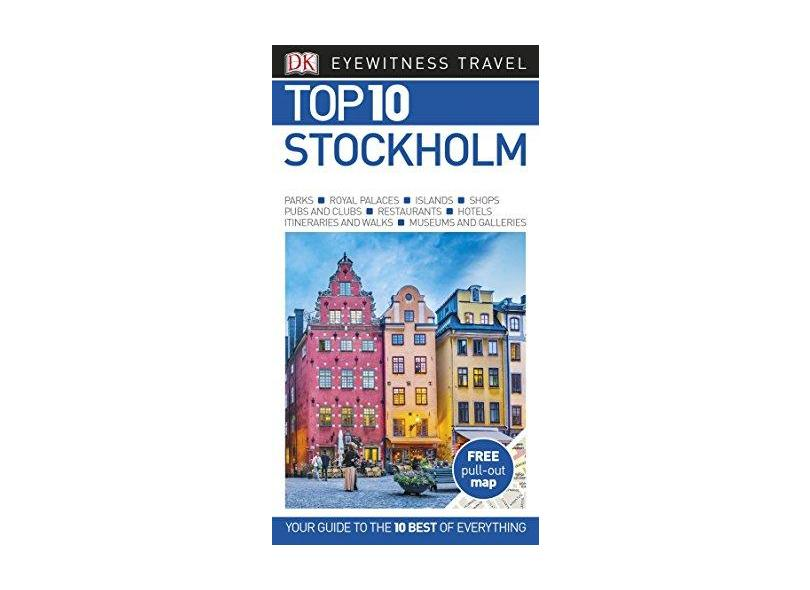 Dk Eyewitness Stockholm Top 10 Travel Guide - Dk Travel - 9780241310298