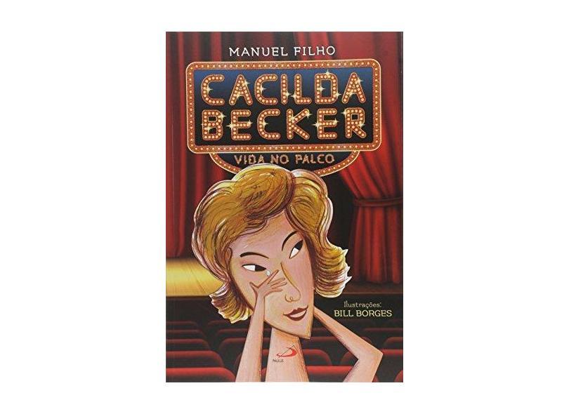 Cacilda Becker: Vida no Palco - Coleção Brasil - Manuel Filho - 9788534943826