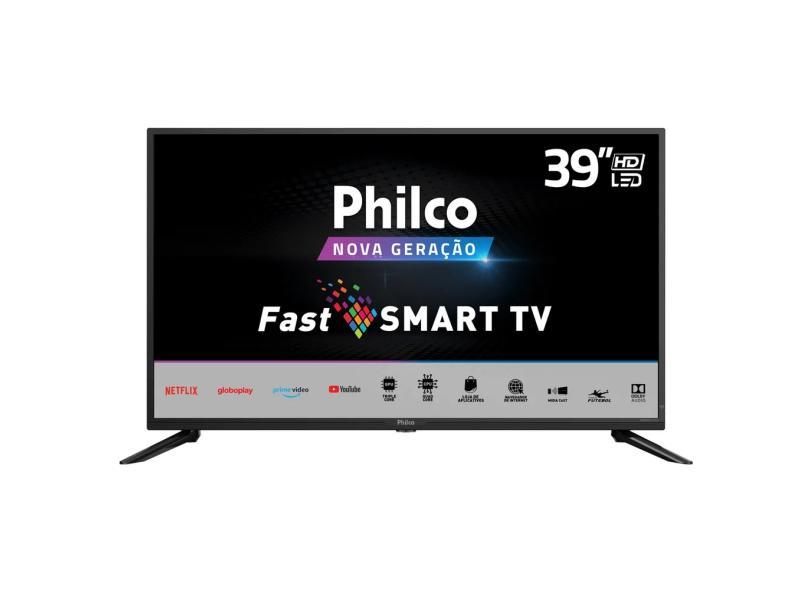 "Smart TV TV LED 39 "" Philco Netflix PTV39G50S 2 HDMI"