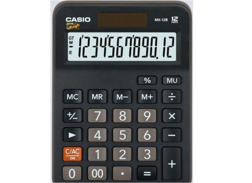 Calculadora De Mesa Casio MX-12B