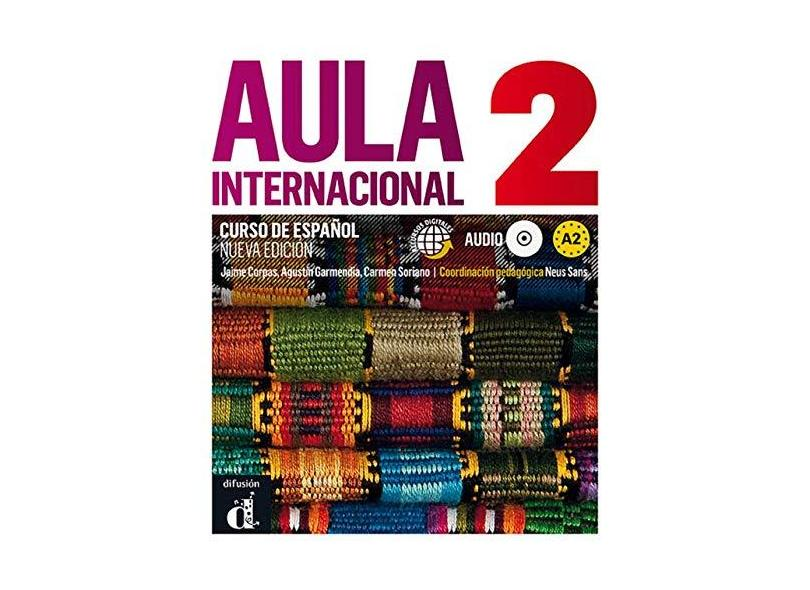 Aula Internacional 2 - Libro Del Alumno + CD - Nueva Edición - Jaime Corpas; - 9788415640103