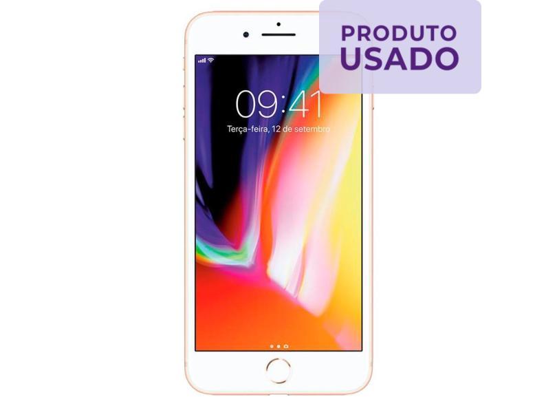 Smartphone Apple iPhone 8 Plus Usado 256GB Câmera Dupla iOS 11
