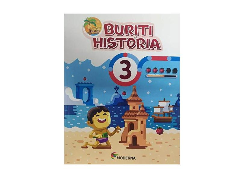 Buriti. História 3 - Vários Autores - 9788516106621