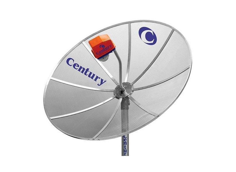Antena de TV Parabólica com Receptor Century MD170