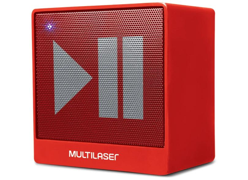 Caixa de Som Bluetooth Multilaser Mini 8 W