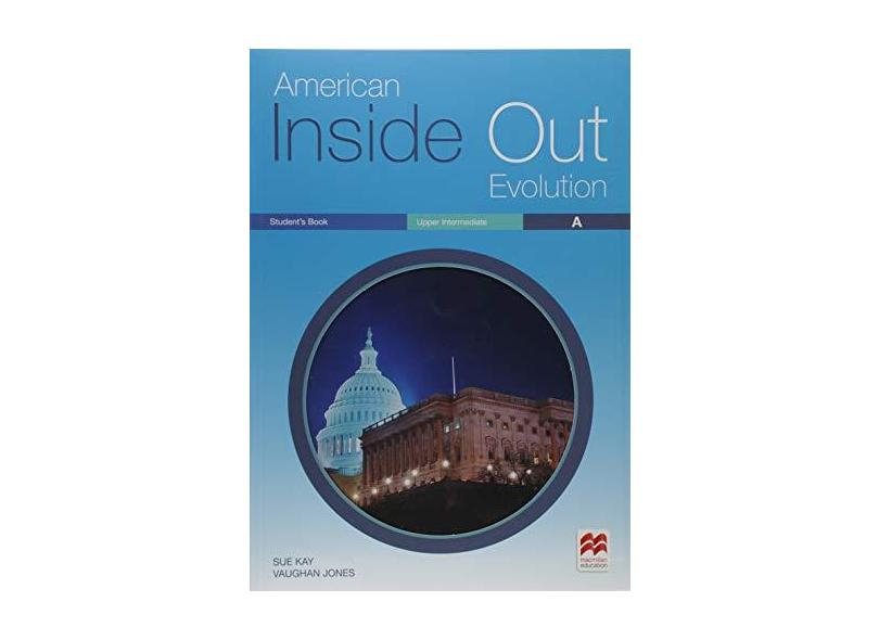 American Inside Out Evolution Student'S Pack (+ Workbook Upper-Intermediate a and Key) - Sue Kay - 9786685732450