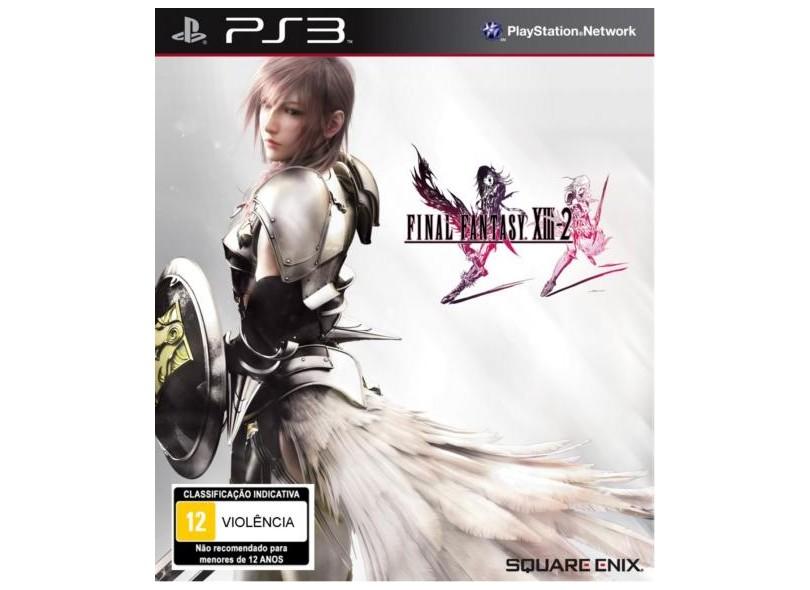 Jogo Final Fantasy XIII 2 Square Enix PlayStation 3