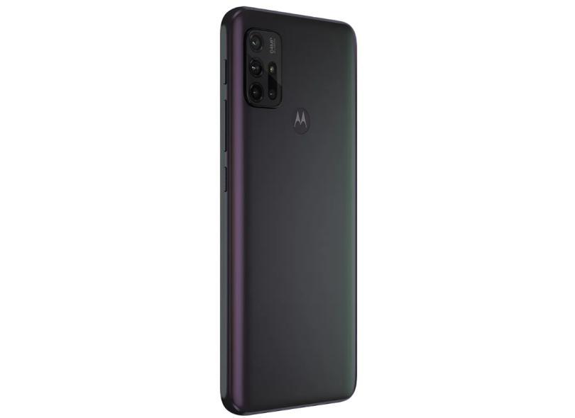 Smartphone Motorola Moto G G30 128GB Câmera Quádrupla Android 11