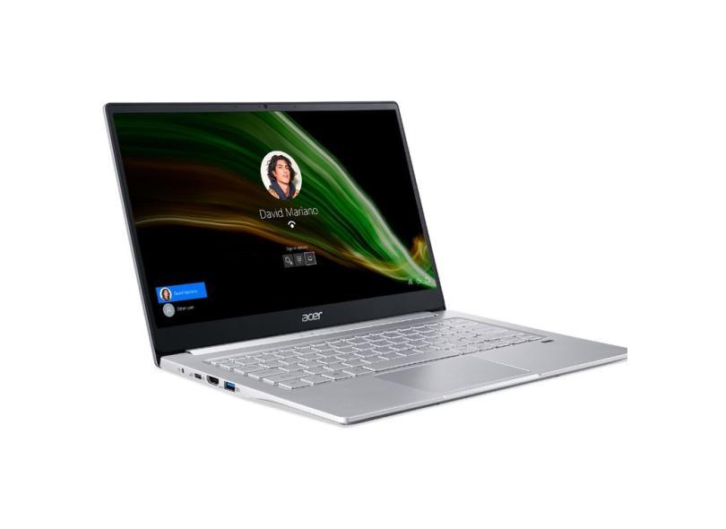 """Notebook Acer Swift 3 AMD Ryzen 5 4500U 8.0 GB de RAM 512.0 GB 14 """" Full Windows 10 SF314-42-R4EQ"""