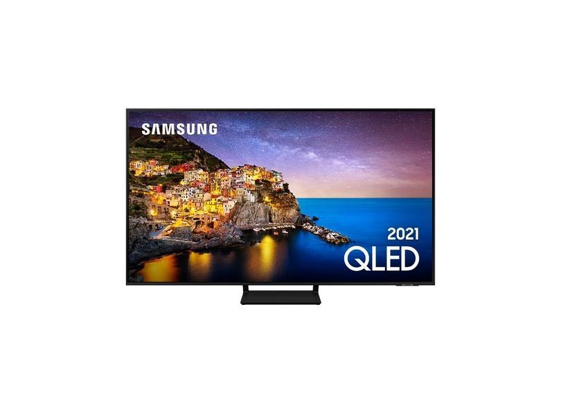 "Smart TV TV QLED 55 "" Samsung 4K HDR 55Q70A 3 HDMI"