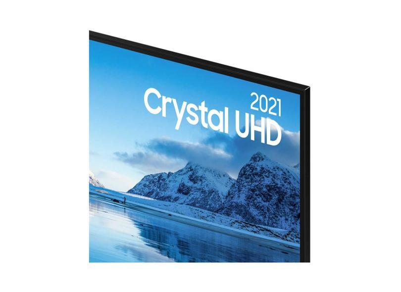 """Smart TV TV LED 55 """" Samsung Crystal 4K HDR 55AU8000 3 HDMI"""