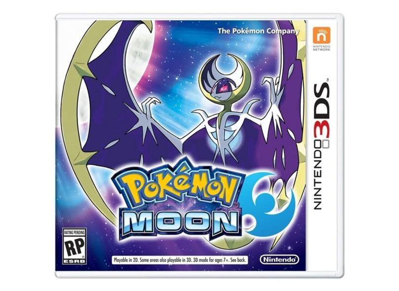 Jogo Pokémon Moon Nintendo Nintendo 3DS
