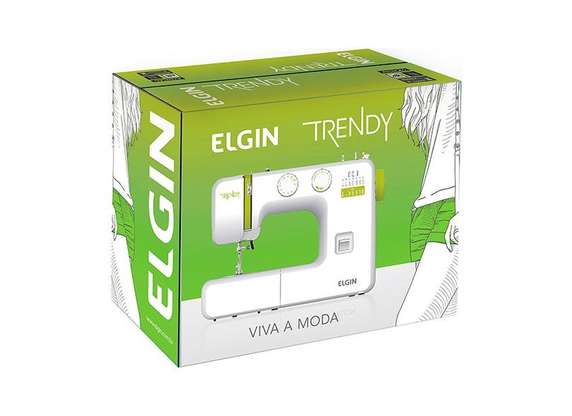 Máquina de Costura Doméstica Trendy JX-3013 - Elgin