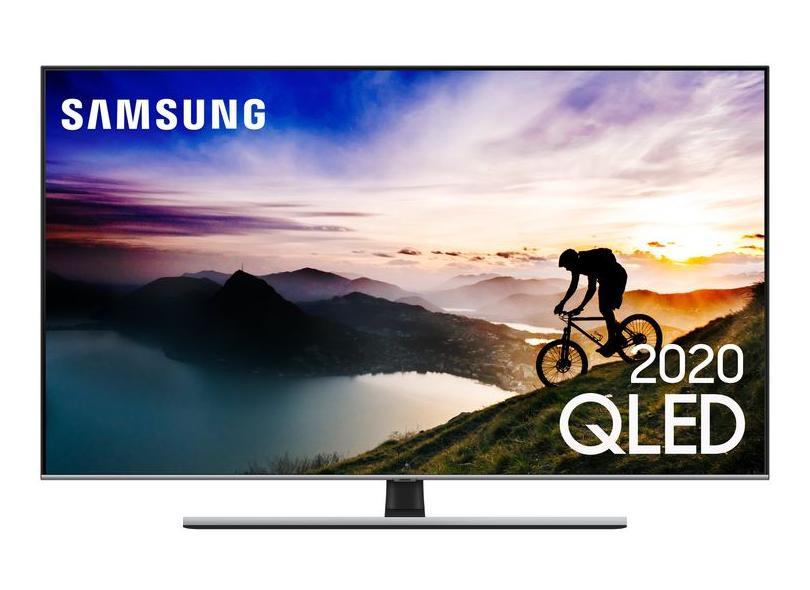 "Smart TV TV QLED 65.0 "" Samsung 4K HDR QN65Q70TAGXZD 4 HDMI"