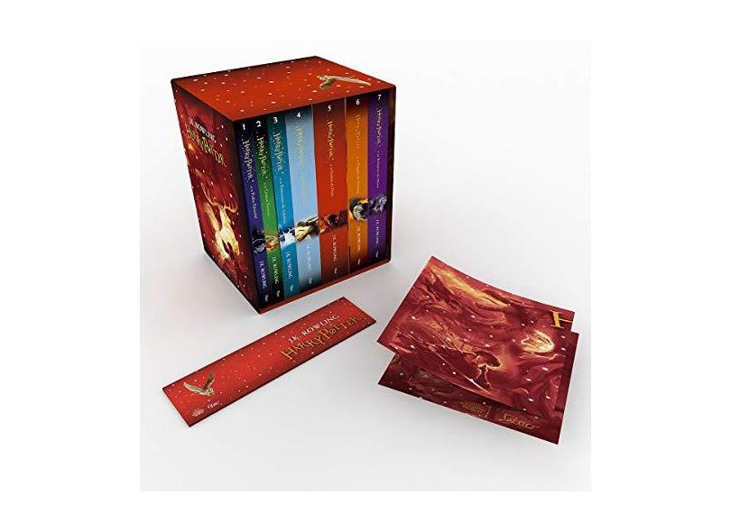 Caixa Harry Potter - Edição Premium Exclusiva Amazon - J. K. Rowling - 9788532505705