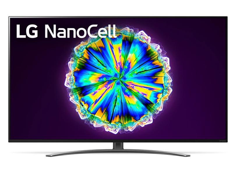 """Smart TV TV Nano Cristal 65 """" LG ThinQ AI 4K 65NANO86SNA 4 HDMI"""