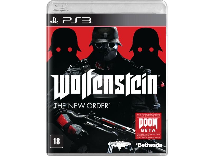 Jogo Wolfenstein: The New Order PlayStation 3 Bethesda