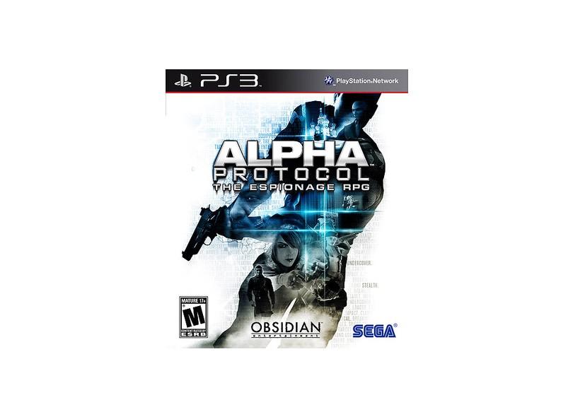 Jogo Alpha Protocol Sega PS3