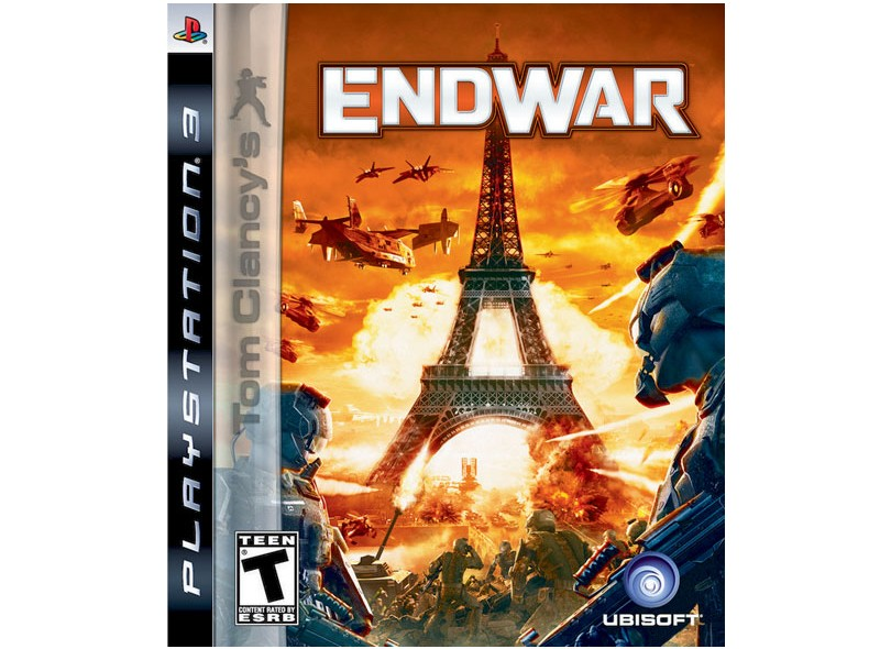 Jogo Tom Clancy's: End War Ubisoft PS3