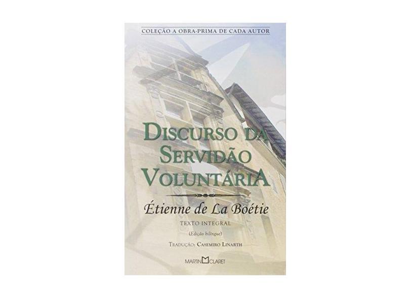 Discurso De Servidao - Capa Comum - 9788572325554