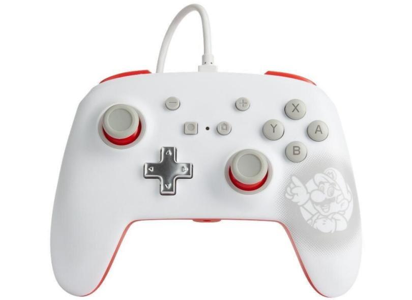 Controle Nintendo Switch Mario White - Power A