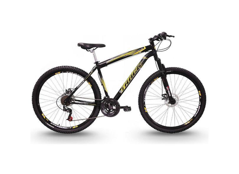 Bicicleta Track & Bikes 21 Marchas Aro 29 Suspensão Dianteira Freio a Disco TB Niner