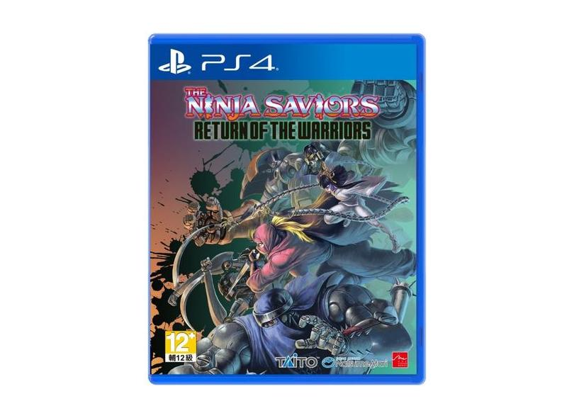 Jogo The Ninja Saviors Return of the Warriors PS4 Taito