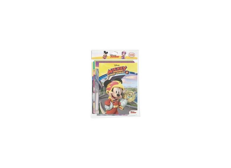 Solapa Colorir Jumbo Disney. Disney Junior - Caixa com 10 Livros - Jefferson Ferreira - 9788533945180