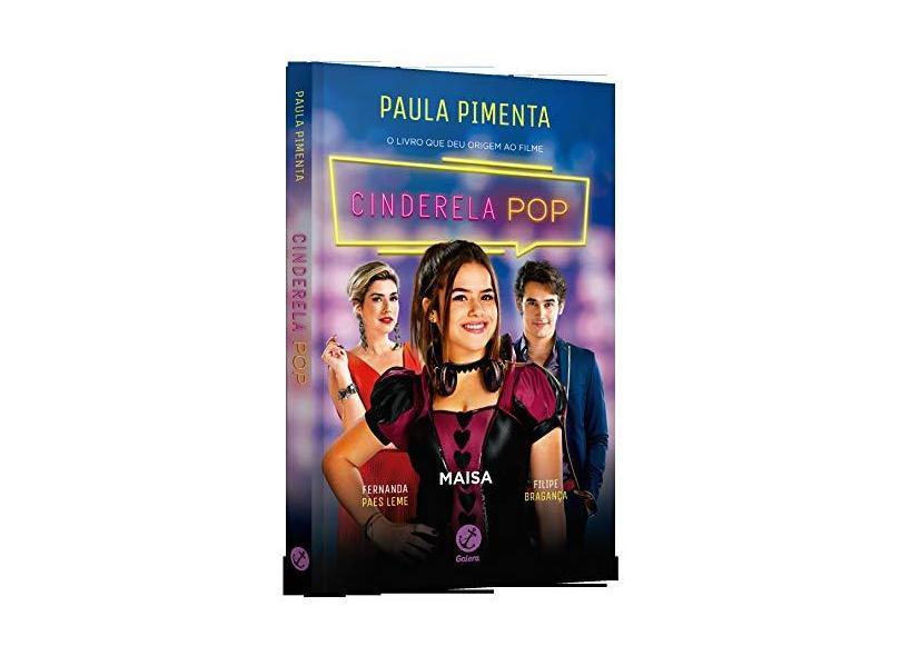 Cinderela pop (Capa do filme) - Paula Pimenta - 9788501116161