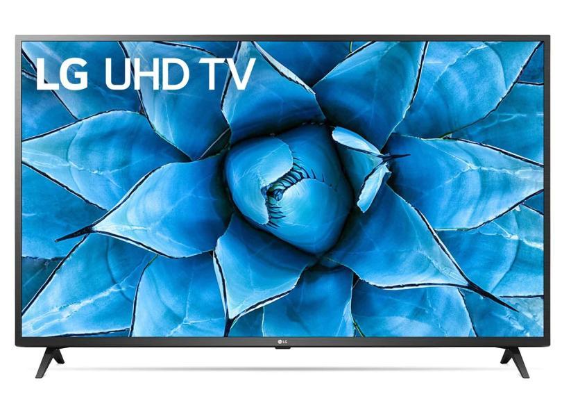 "Smart TV TV LED 65 "" LG ThinQ AI 4K 65UN7310C 2 HDMI"