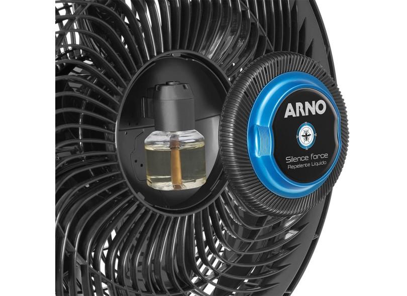 Ventilador de Mesa Arno Silence Force VF55 6 Pás 3 Velocidades