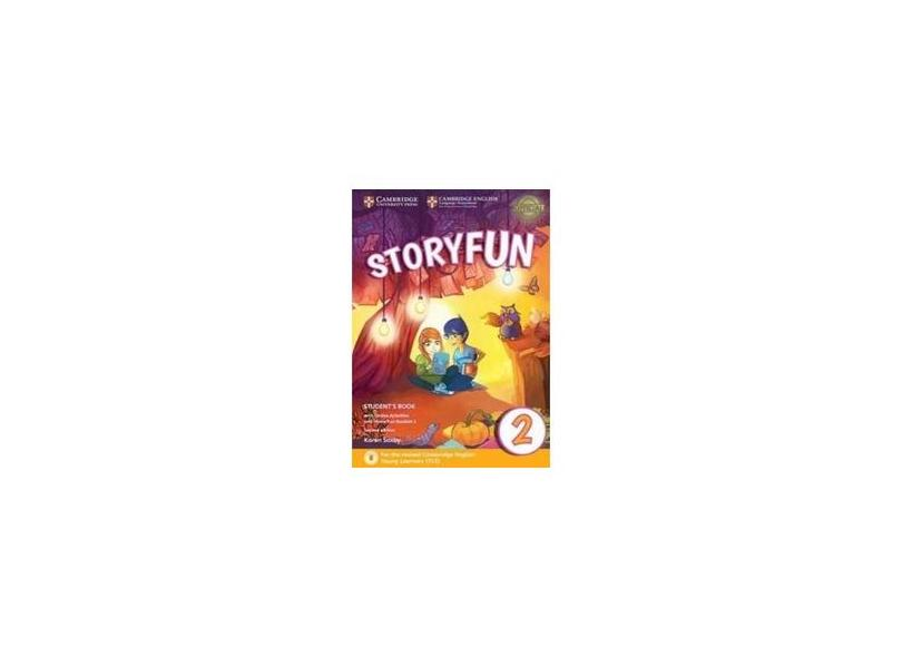 Storyfun for Starters Level 2 Student's Book with Online Activities and Home Fun Booklet 2 - Karen Saxby - 9781316617021