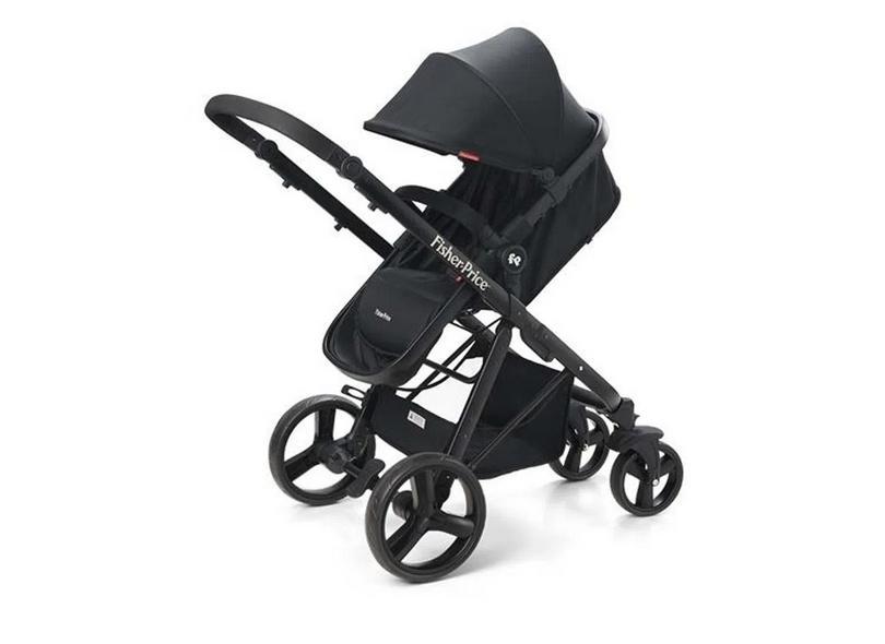 Carrinho de Bebê Travel System com Bebê Conforto Fisher Price Hero TS BB593