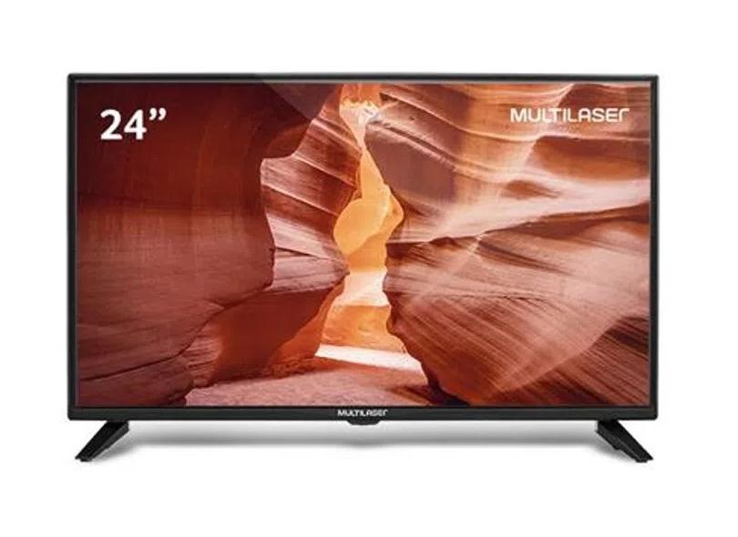 """TV LED 24 """" Multilaser TL016 2 HDMI"""