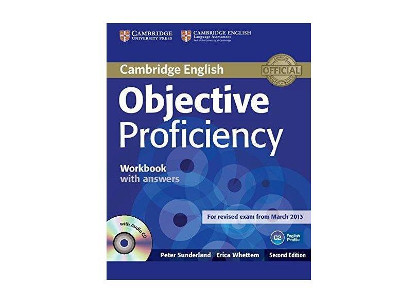 Objective Proficiency Workbook With Answ W CD 2Ed - Capa Comum - 9781107619203