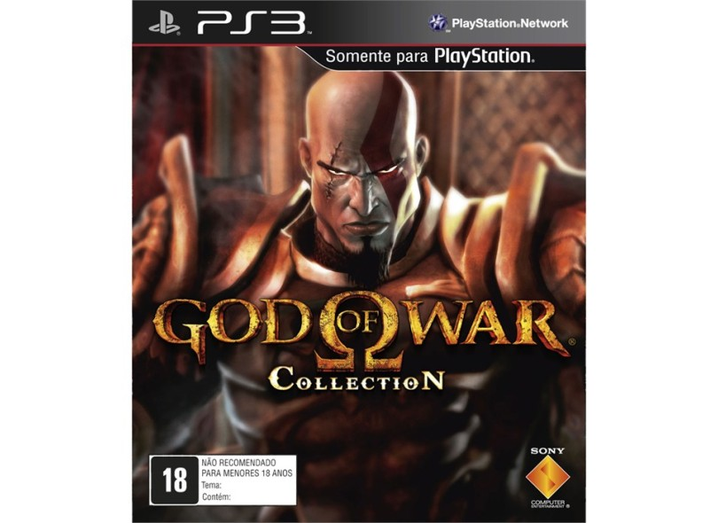 Jogo God Of War: Collection Sony PS3