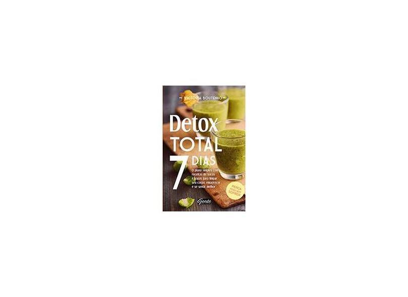 Detox Total 7 Dias - Capa Comum - 9788545200512