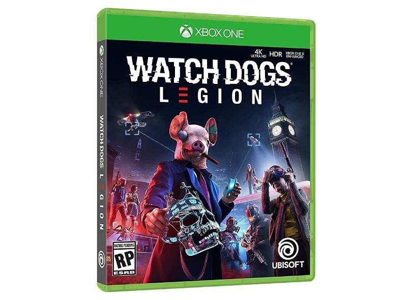 Jogo Watch Dogs Legion Xbox One Ubisoft