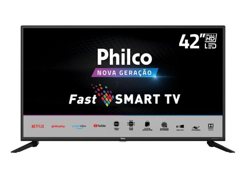 "Smart TV TV LED 42"" Philco Full HD PTV42G70N5CF 3 HDMI"