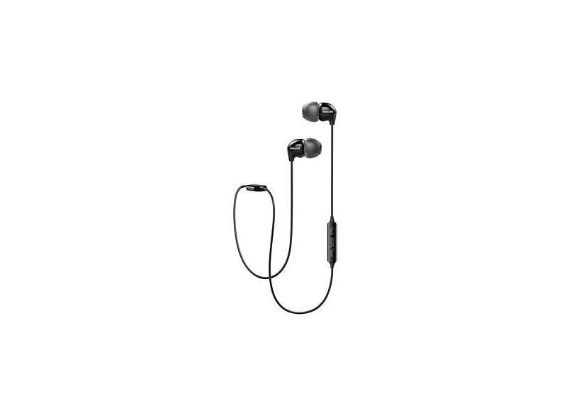 Fone de Ouvido Bluetooth com Microfone Philips SHB3595BK