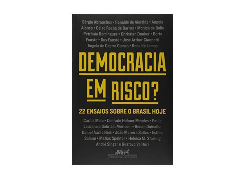 Democracia em risco?: 22 ensaios sobre o Brasil hoje - Vários Autores - 9788535932027