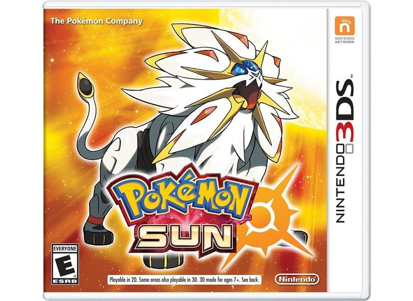 Jogo Pokémon Sun Nintendo Nintendo 3DS