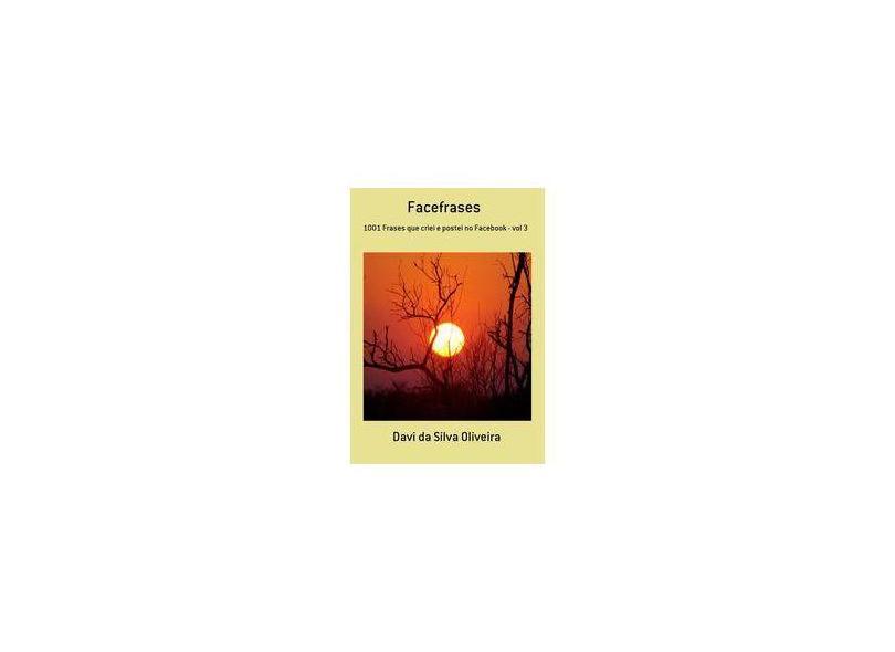 Facefrases - Davi Da Silva Oliveira - 9788591483495