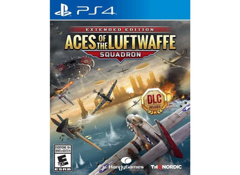 Jogo Aces of the Luftwaffe Squadron PS4 THQ