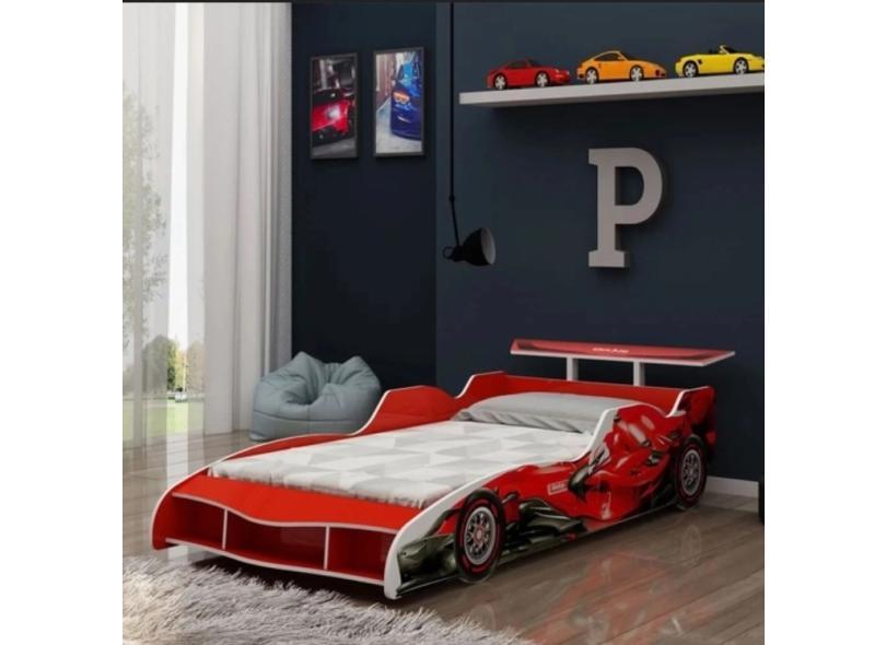 Cama Infantil Carro F1 Gelius Móveis
