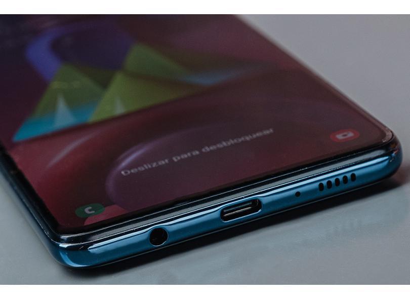 Smartphone Samsung Galaxy M51 6 GB 128GB Câmera Quádrupla Qualcomm Snapdragon 730 2 Chips Android 10