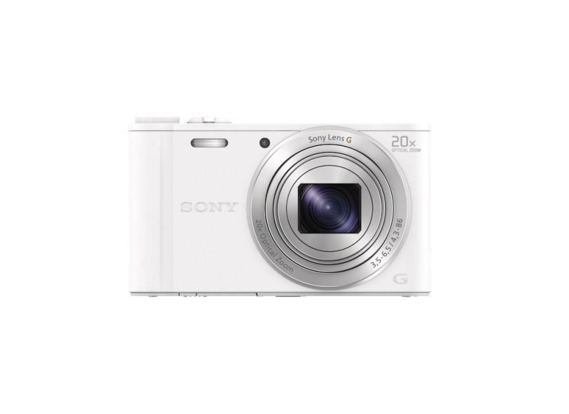 Câmera Digital Sony Cyber-Shot 18.2 MP Full HD DSC-WX350