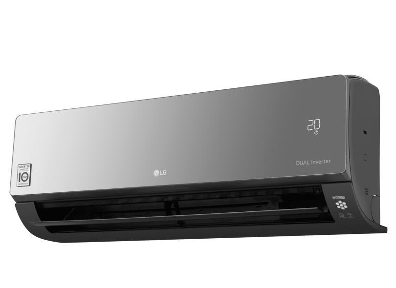 Ar Condicionado Split Hi Wall LG Art Cool 12000 BTUs Inverter Controle Remoto Quente/Frio S4-W12JARPA