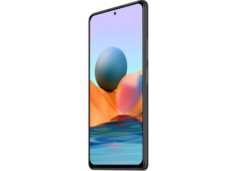 Smartphone Xiaomi Redmi Note 10 Pro 8GB RAM 128GB Câmera Quádrupla Qualcomm Snapdragon 732G 2 Chips Android 11