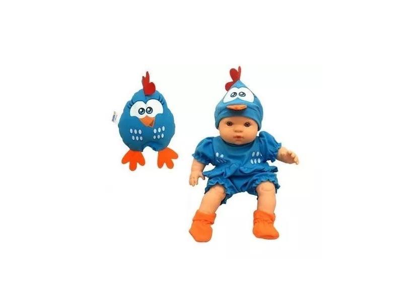 Boneca Galinha Pintadinha Baby 5604 Roma Brinquedos